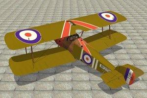 sopwith camel 3d model