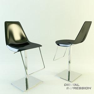 3d place chair