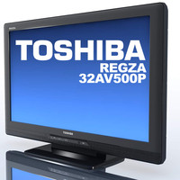 tv toshiba regza 32av500p max