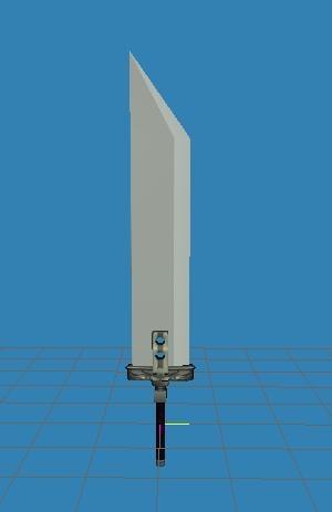 3d buster sword