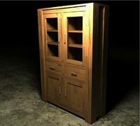 3ds max hubert buffet cabinet