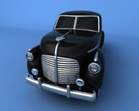 antique pickup truck 3d max