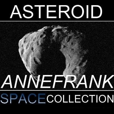 3ds max annefrank asteroid