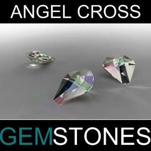 max angel cross cut gem