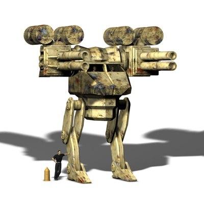 gunslinger 3d model