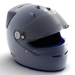 f1 helmet 3d max