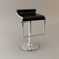 lem bar kitchen stool 3d model