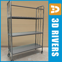 Linen cart 02 by 3DRivers