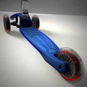 kid scooter 3d 3ds