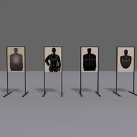 3d silhouette model