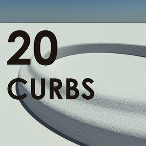 20 standard accurate scale 3d model