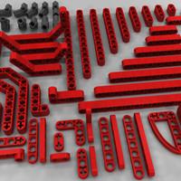 technic bricks build 3d model
