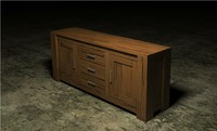 3d hubert cabinet