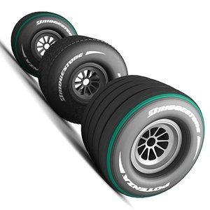 formula tyres 3ds
