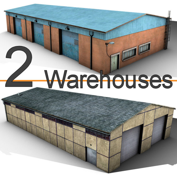3d 3ds 2 warehouses