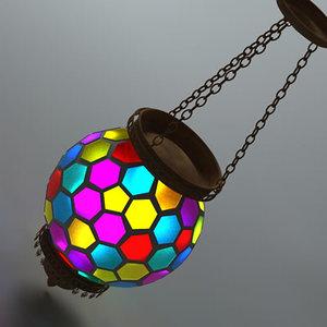 antique lamp 04 3d model