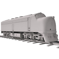 3ds max train railway