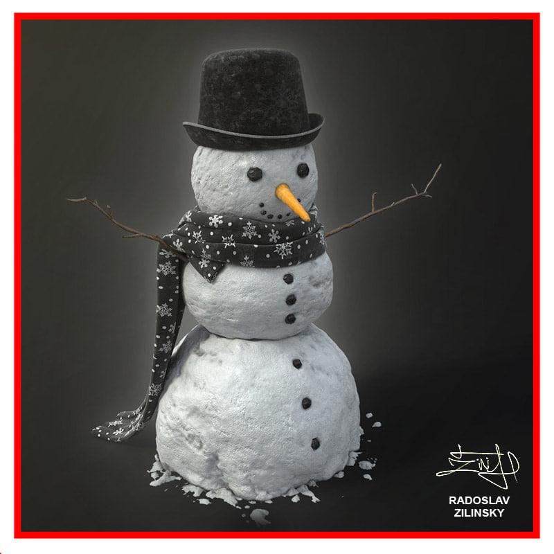max snowman snow