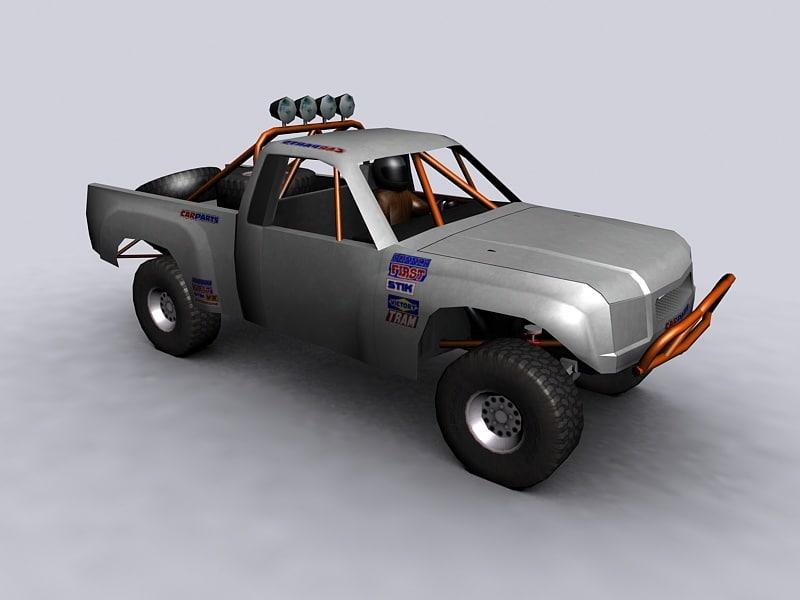 3d ready offroad truck model