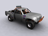 3d ready offroad truck model