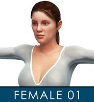 Female Character 01