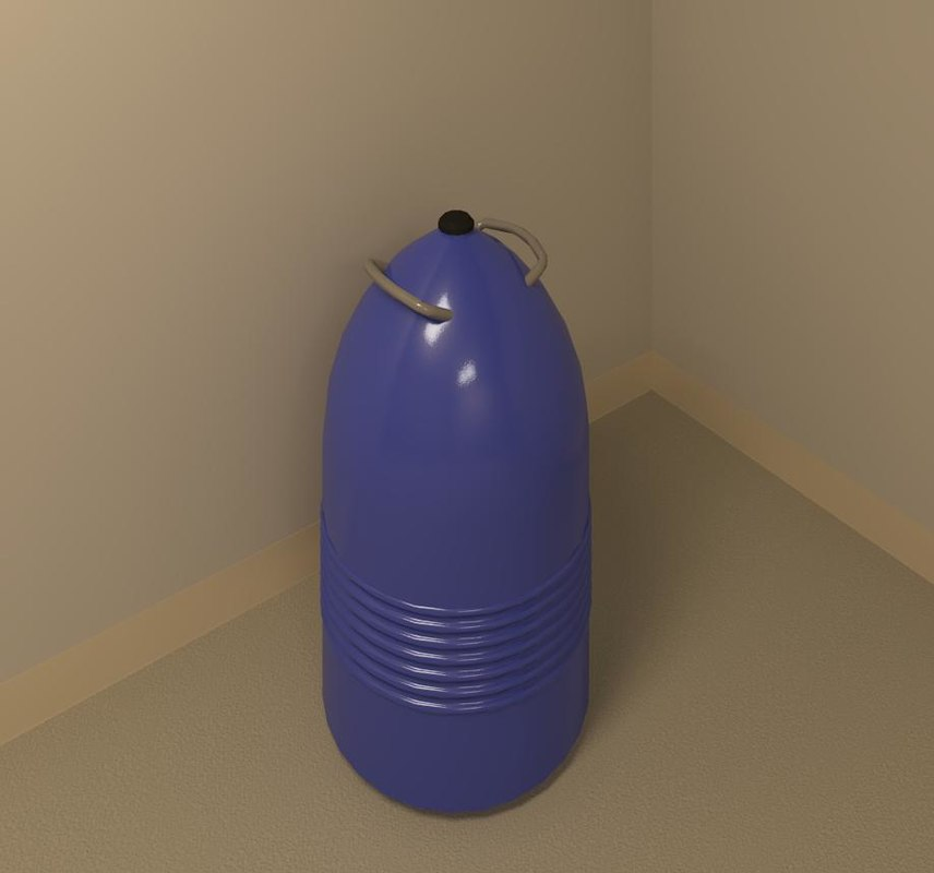 3d model dewar nitrogen