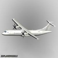 ATR 72-500 Generic white