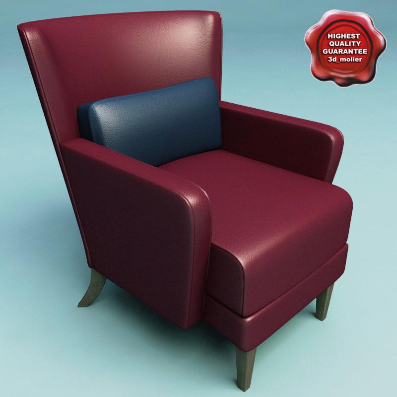 3d armchair v14