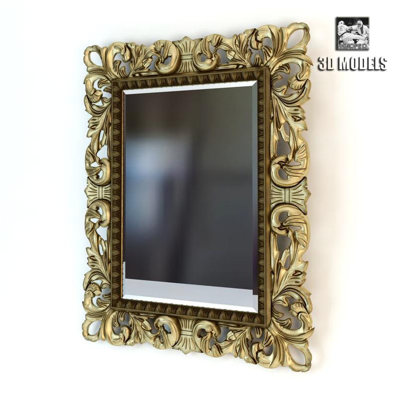 3d model mirror artelinea