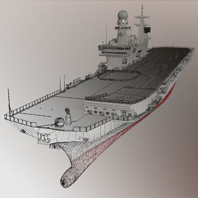 3d cavour portaerei