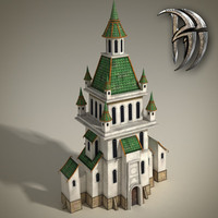Church (low poly)
