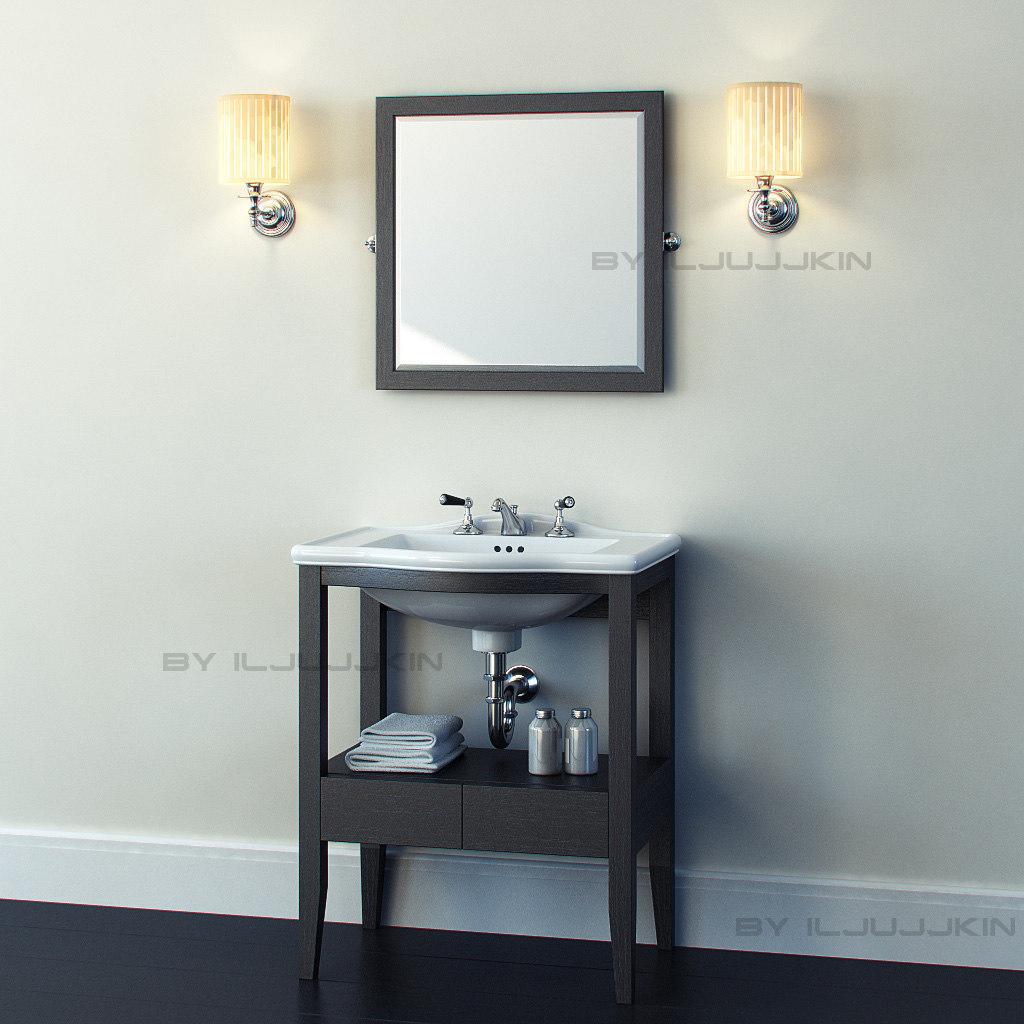classical furniture devon 3d model