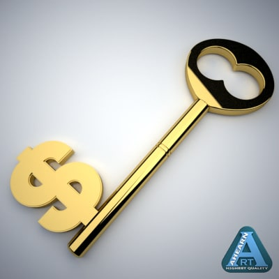 3ds max dollar key