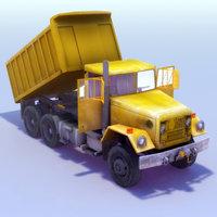 dumper truck lwo
