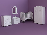 furniture baby expert diamante 3d model