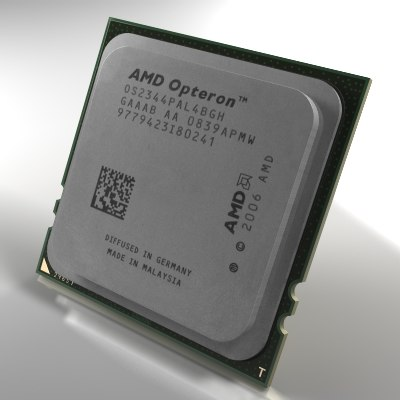 3ds max server processor amd opteron