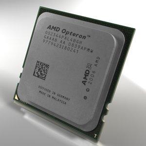 3ds max server processor amd opteron
