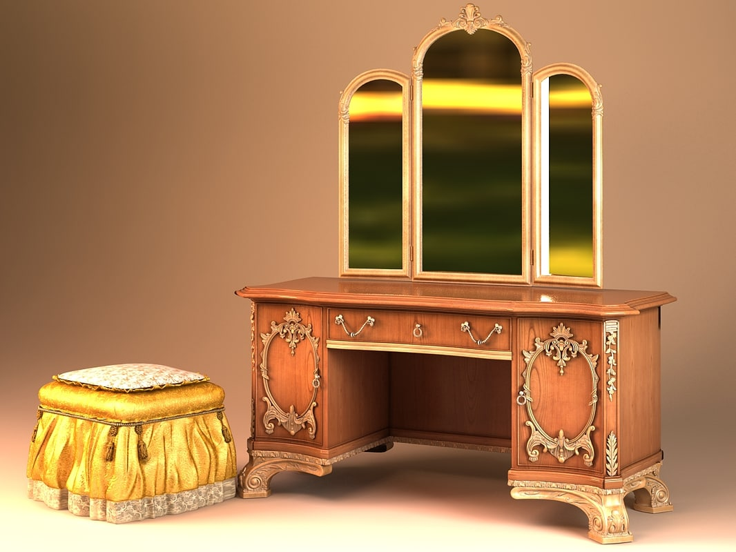 provasi night table 3d max