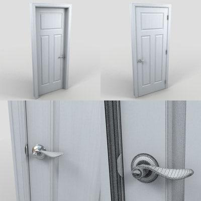 3d model doors residential