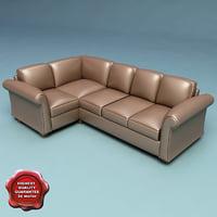 3d model sofa v17