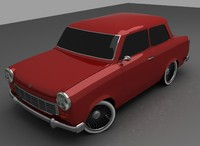 3ds max trabant 601