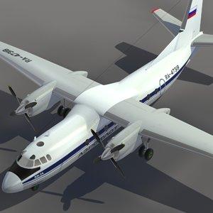 max aircraft an-24 transport aeroflot