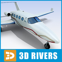 adam aircraft a700 3d model