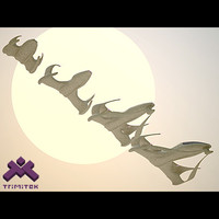 alien spaceship fighters - x