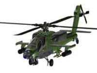 aircraft helikopter 3d model