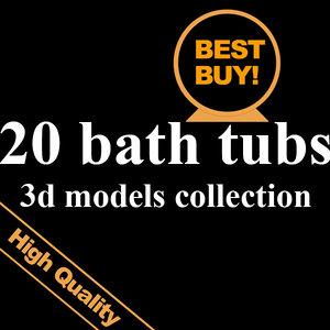 20 bath max