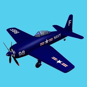 maya grumman bearcat fighter plane