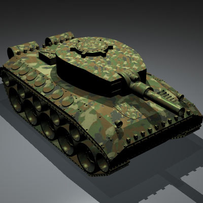 3ds max tank