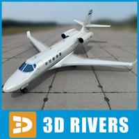 3d gulfstream g150 model