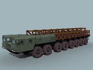 mzkt-79221 chassis 3d model
